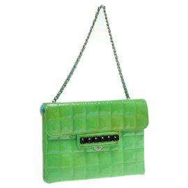 Chanel-Chanel Chocolate Bar Enamel-Green