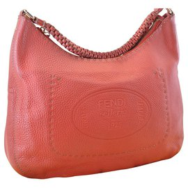 Fendi-Fendi Leather Bag-Red
