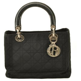 Dior-Dior Lady Dior Nylon 2Façon-Noir
