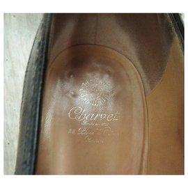 Charvet-vintage derbies Charvet p 41-Black