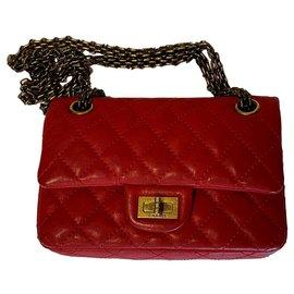 Chanel-Chanel 2.55 Mini-Rouge