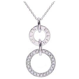 Céline-Celine necklace-White