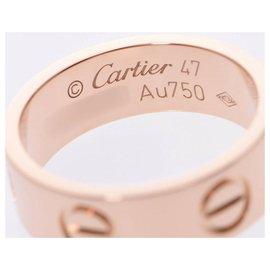 Cartier-Bague Love Cartier-Rose
