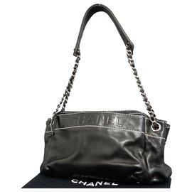 Chanel-Sac bandoulière Chanel Chain-Noir
