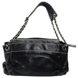 Chanel-Chanel Chain Shoulder Bag-Black
