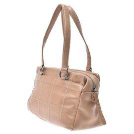 Chanel-Chanel Bar Shoulder Bag-Beige