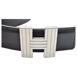 Hermès-Hermès Belt Constance H Buckle Black-Black