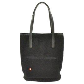 Bally-Bally Tote Bag-Black