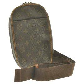 Louis Vuitton-Louis Vuitton Monogram Pochette Gange-Brown