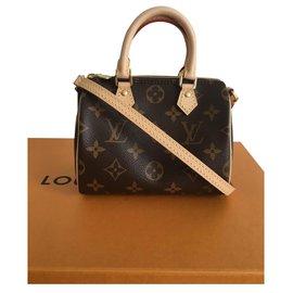 Louis Vuitton-Nano Speedy-Dark brown