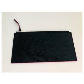 Louis Vuitton-Purses, wallets, cases-Black