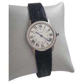 Cartier-Solo ronde-Blanc
