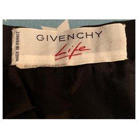Givenchy-Vintage skirt-Black