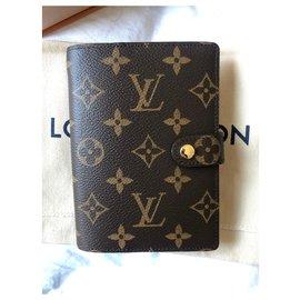 Louis Vuitton-Agenda cover LV new-Brown