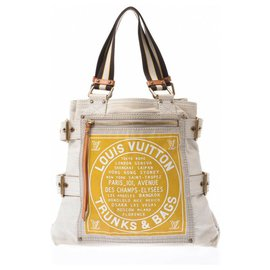 Louis Vuitton-Sac à main Louis Vuitton-Jaune