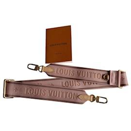 Louis Vuitton-Guitar strap pink-Pink