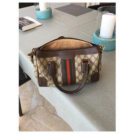Gucci-vintage pattern-Light brown