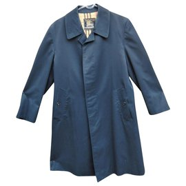 Burberry-raincoat man Burberry vintage sixties t 48-Navy blue