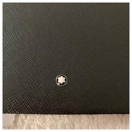 Montblanc-Black leather sketchbook #149-Black