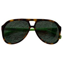 Dolce & Gabbana-Máscara de óculos de sol na moda-Multicor