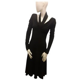 Max Mara-Mid lenght dress-Black