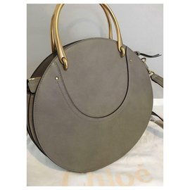 Chloé-CHLOE Pixie medium mottey gray bag perfect condition-Grey
