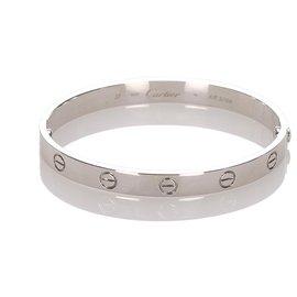 Cartier-Bracelet Love Cartier Argent-Argenté