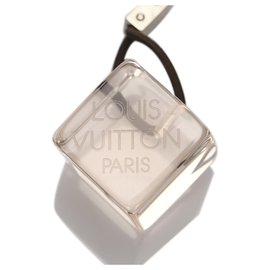 Louis Vuitton-Cubes de cheveux à logo blanc Louis Vuitton-Noir,Blanc