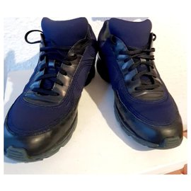 Chanel-Chanel espadrilles 38-Dark blue