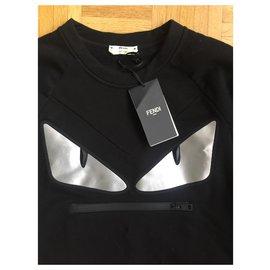 Fendi-Fendi Monster dress-Black