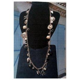 Yves Saint Laurent-Long necklaces-Golden