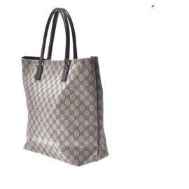 Gucci-Gucci Vintage Tote Bag-Beige