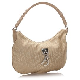 Dior-Dior Brown Dior Oblique Canvas Sac à bandoulière-Marron,Beige