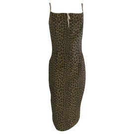 Fendi-Fendi Leopard Print Dress-Multiple colors