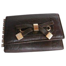 Gucci-Gucci Key Holder Wallet-Brown