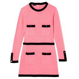 Chanel-PINK CASHMERE FR38-Black,Pink
