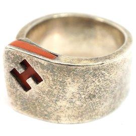 Hermès-Hermes Silver Silver Candy Bague-Argenté