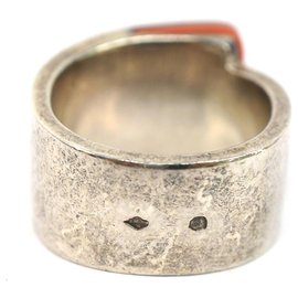 Hermès-Hermes Silver Silver Candy Ring-Silvery