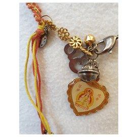 Reminiscence-collier et bracelet-Doré