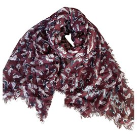 Louis Vuitton-Cashmere scarf-Other