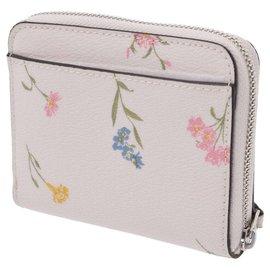 Coach-Coach Zip purse outlet-White