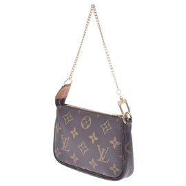 Louis Vuitton-Louis Vuitton Pochette Accessoires-Brown