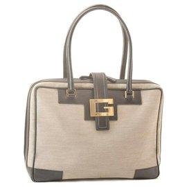 Gucci-Gucci Vintage Handbag-Beige