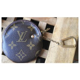 Louis Vuitton-Superb Louis Vuitton cherry key purse-Red,Dark brown