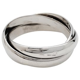 """Cartier-Cartier ring """"Trinity"""" white gold, Medium model.-Other"""