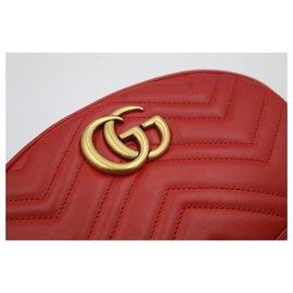 Gucci-Sac ceinture Gucci-Rouge