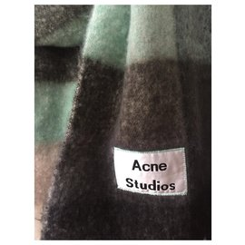 Acne-Acne Studios Maxi Fringed Scarf-Multiple colors