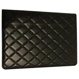 Chanel-Pochette iPad tablette Chanel-Noir