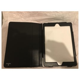 Chanel-IPad case for Chanel tablet-Black