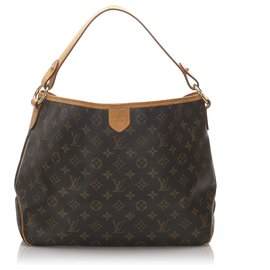 Louis Vuitton-Louis Vuitton Brown Monogram Delightful PM-Brown